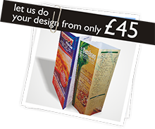 Let us do your design from only £45